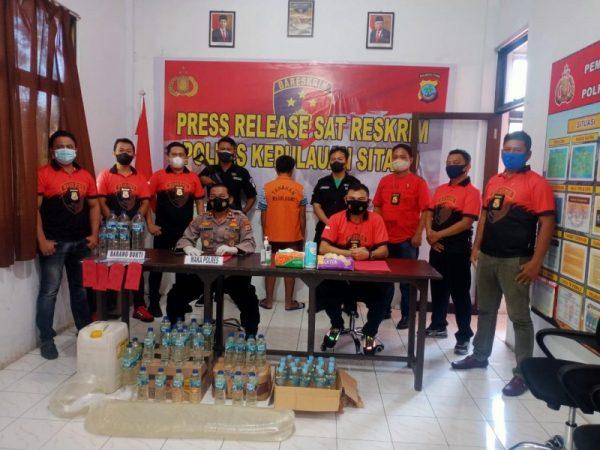 Press release hasil Operasi Penyakit Masyarakat.