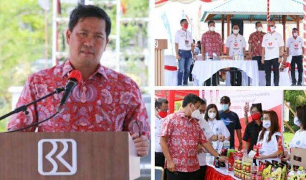 Wagub Kandouw saat menghadiri Puncak Hari UMKM Nasional Ke-6 Tahun 2021