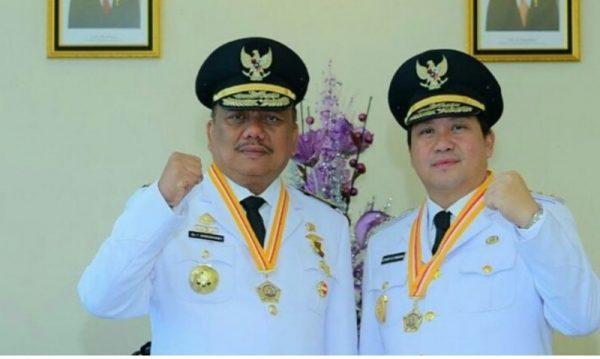 Gubernur Sulut Olly Dondokambey dan Wagub Steven OE Kandouw