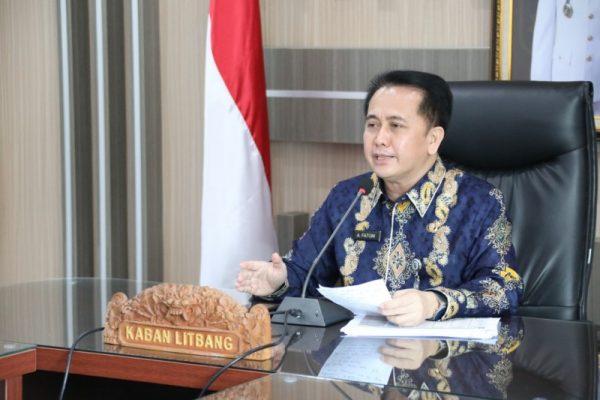 Kepala Badan Penelitian dan Pengembangan (Badan Litbang) Kemendagri, Dr. Drs. Agus Fatoni, M.Si