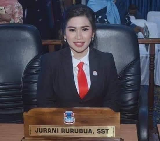 Jurani Rurubua Anggota DPRD Kota Manado