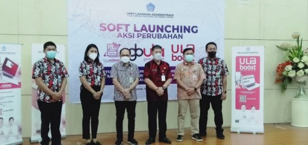 """Foto bersama disela-sela launching Proyek Perubahan """"ULA KRING"""", """"GBUla"""", dan ULA BOOST, di Ruang C.J. Rantung Kantor Gubernur Sulut, Jumat (17/9/2021). (Foto.ist)"""