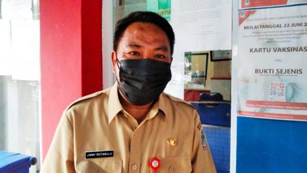 Kepala DPM-PTSP Kota Manado, Jimmy Rotinsulu