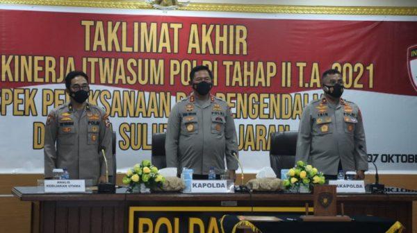 Audit Kinerja Tahap II TA 2021 di Polda Sulut