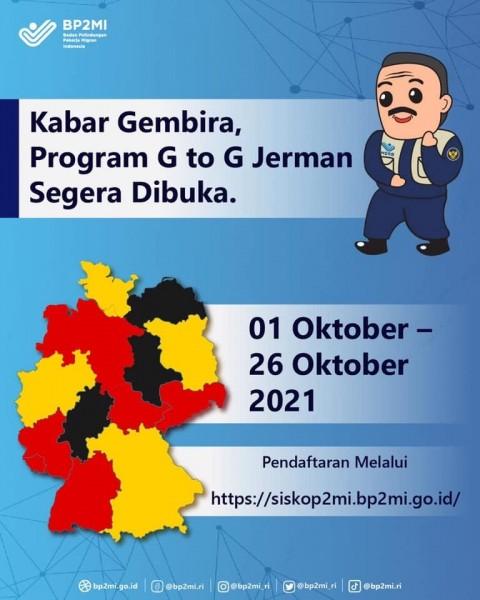 Program G to G Jerman BP2MI