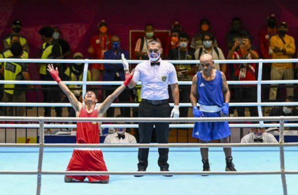 Juan Abas usai berlaga di arena PON XX Papua. (Foto.ist)