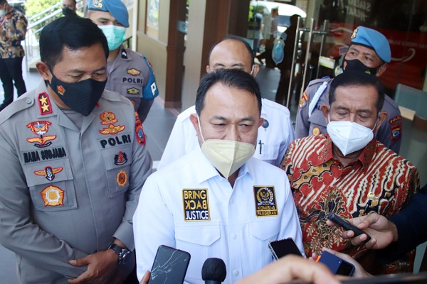 Wakil Ketua Komisi III DPR RI Pangeran Khairul Saleh